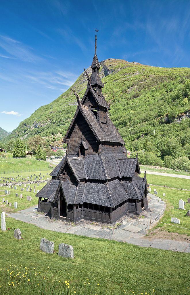 Stabkirche Borgund Lærdalen