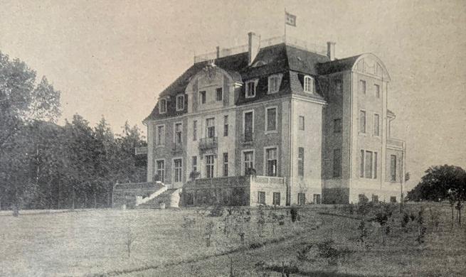 Schloss Götschendorf um 1915