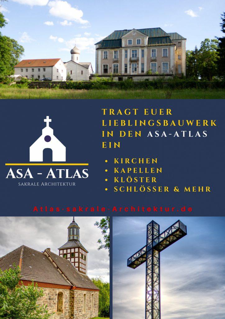 Tragt Eure lieblingbauwerke in den AsA-Atlas ein
