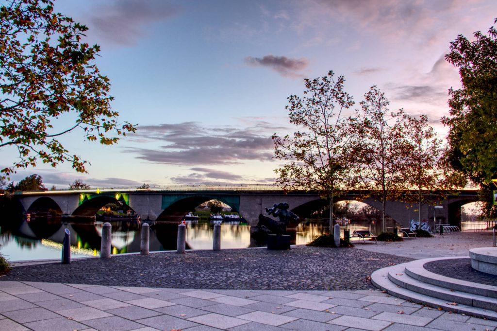 Straßenbrücke Schwedt über die Hohensaaten-Friedrichsthaler Wasserstraße