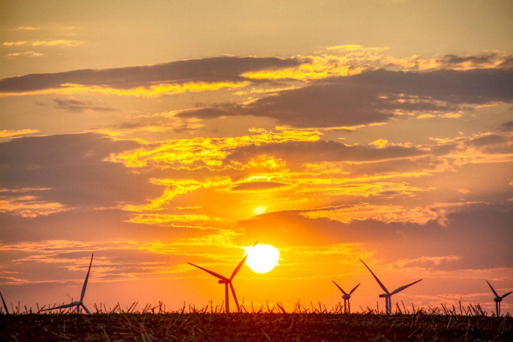 Sonnenuntergang Uckermark