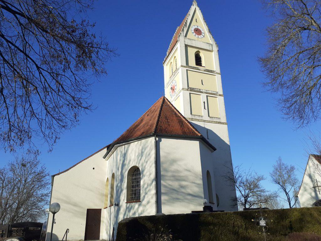 Pfarrkirche St. Martin Kleinberghofen