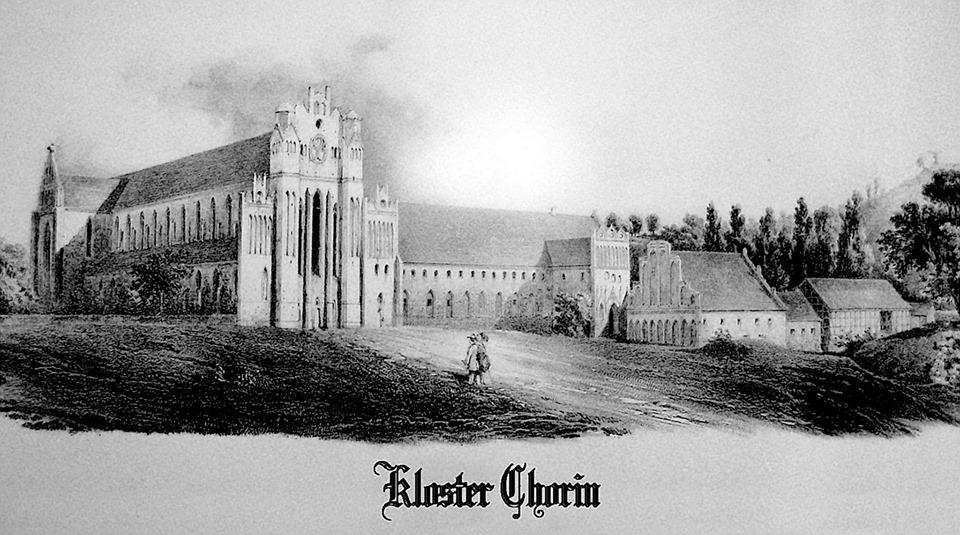 altes Bild Kloster Chorin