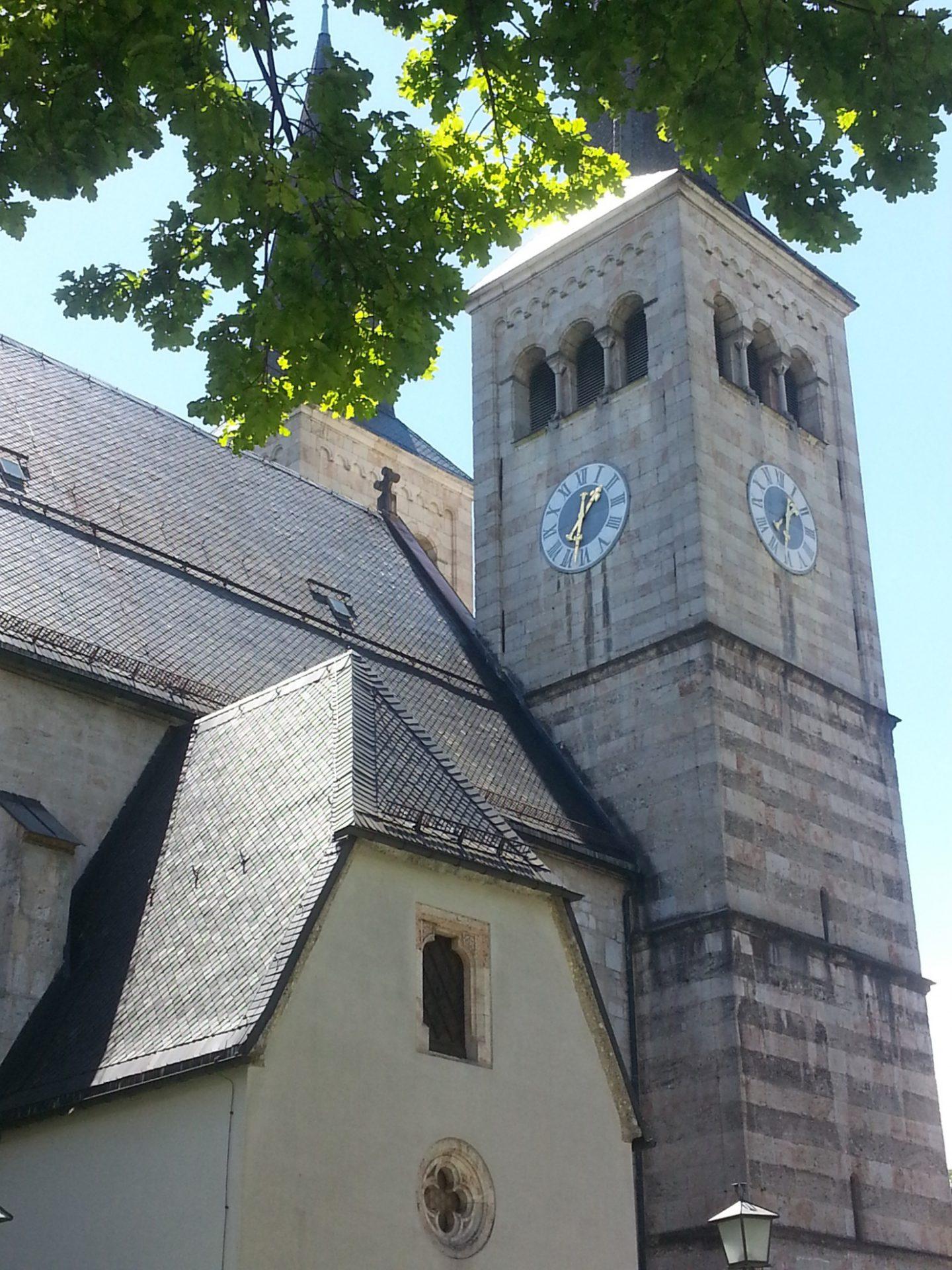 Stiftskirche St. Peter und Johannis der Täufer Berchtesgaden